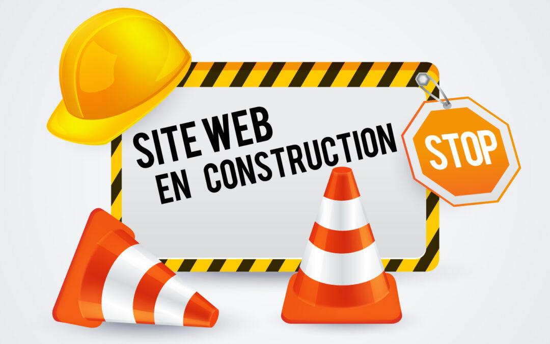 Nouveau site «Au Buron» en Construction